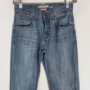 Denizen LEVI'S 218 Boys Denim Jeans Size 12